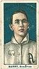 Jack Barry, Philadelphia Athletics, baseball card portrait LCCN2007683814.jpg