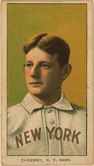 Jack Chesbro - Image: Jack Chesbro Baseball Card
