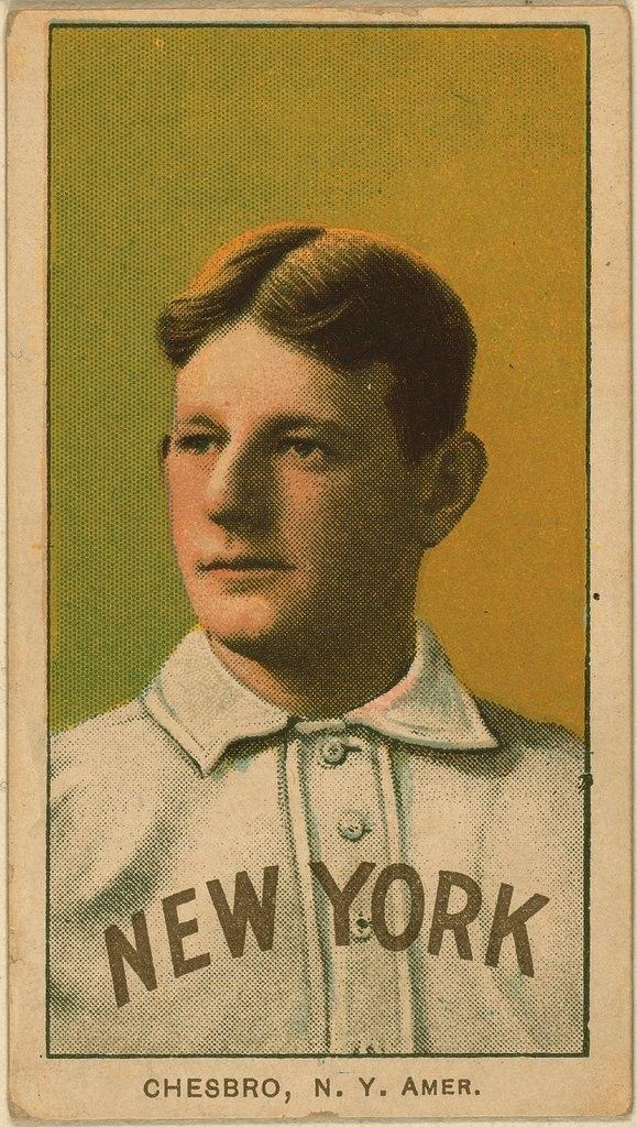 Jack Chesbro Baseball Card