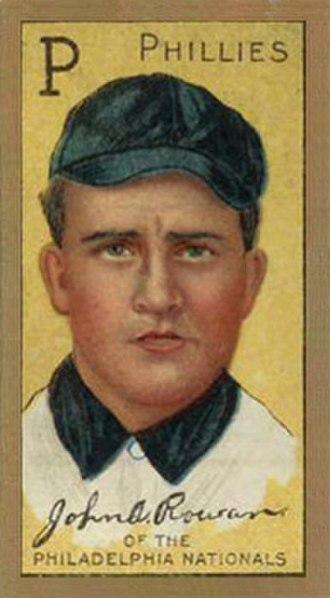 Jack Rowan (baseball) - Image: Jack Rowan