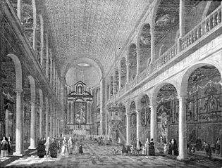 Interior of the Jesuit Church in Antwerp