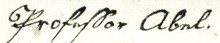 Jacob Friedrich Abel signature.png