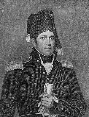 Siege of Fort Erie - American Major General Jacob Brown, commander of the Left Division of the Army of the North