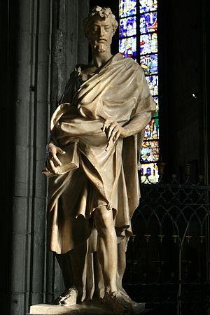 Jacques du Broeucq - Saint Bartholomew, in the Saint Waltrude Collegiate Churchin Mons.