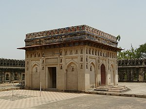 1536 in India - The enclosed tomb of Jamail Kamali