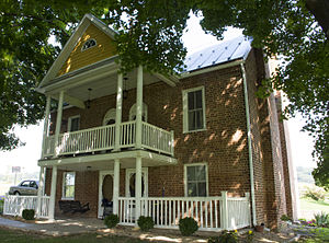 National Register of Historic Places listings in Augusta County, Virginia - Image: James Alexander house front 2