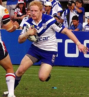 James Graham (rugby league) - Image: James Graham Canterbury Bulldogs