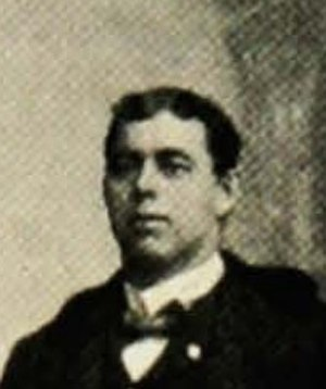 Jim Coombs - Coombs pictured in The Prism 1901, Maine yearbook