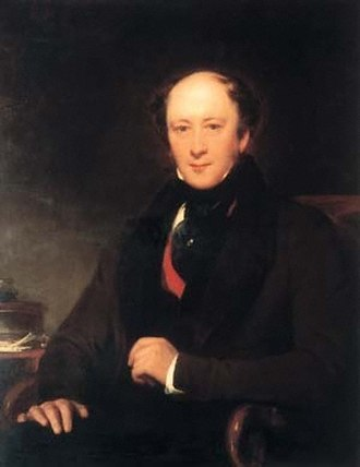 James Planché - 1835 portrait by Henry Perronet Briggs