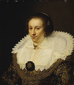 Portrait of Petronella Buys - Image: Jan Anthonisz van Ravesteyn (1570 72−1657) Maria Odilia Buys (29433097086)