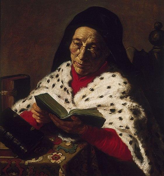 File:Jan Lievens - Old Woman Reading - Cat487.jpg