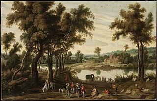 Landscape with Gentlefolk and Gypsies