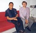 Janusz Gwoździewicz & Cecilio 1999-07-01.jpg