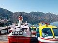 Japan- Tochigi, lake Chuzenji swan boats 2012.jpg
