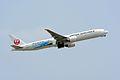 Japan Airlines, Boeing 777-300ER JA733J 'Jet Kei' NRT (26822184965).jpg
