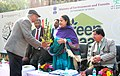 "Jayanthi Natarajan visited the ""Green Haat"", organized by the Ministry of Environment & Forest to raise awareness on the rich forest and bio diverse heritage of the country among the growing urban population often living far.jpg"