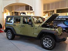 Jeep Wrangler Unlimited Rubicon Hardtop (JK, USA)