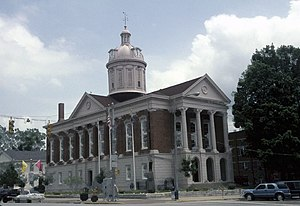 Madison, Indiana - Jefferson County Courthouse in Madison