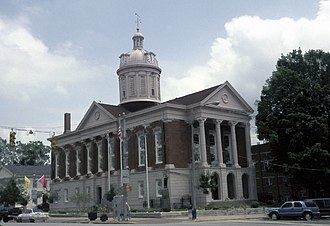 Jefferson County, Indiana - Image: Jefferson County Indiana Courthouse