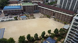 Jeonjuseo Middle School, Photographed in the 18th Floor of an Seosin Seongwon apartment.jpg