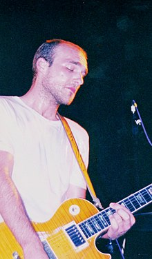Enigk performing in 2000