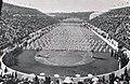 Jeux Olympiques intercalaires de 1906, écoles grecques de gymnastiques avant les récompenses.jpg