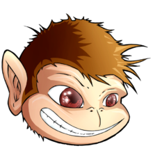 Description de l'image Jmonkey-logo-head-tilted.png.