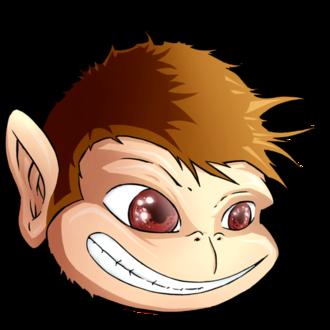 JMonkeyEngine - Image: Jmonkey logo head tilted