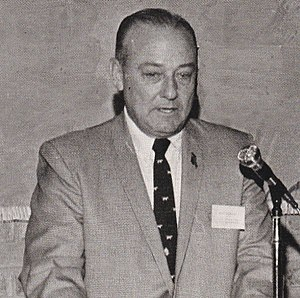 Joe Waggonner - Waggonner at his alma mater, Louisiana Tech University (c. 1970), of which he was an active alumni supporter