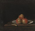 Johan Hörner - Still Life with Apples on an 'East Indian' Plate - KMS4612 - Statens Museum for Kunst.jpg