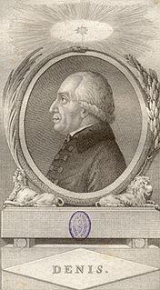 Michael Denis Austrian entomologist and writer