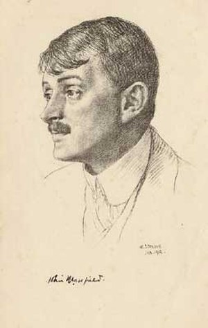 John Masefield - Image: John Masefield 1912