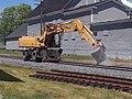 John Deere Excavator on Rails Lyndonville VT June 2018 01.jpg