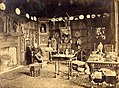 John Etherington Welch Rolls (1807-1870) in the 'Oak Parlour' at the Hendre..JPG