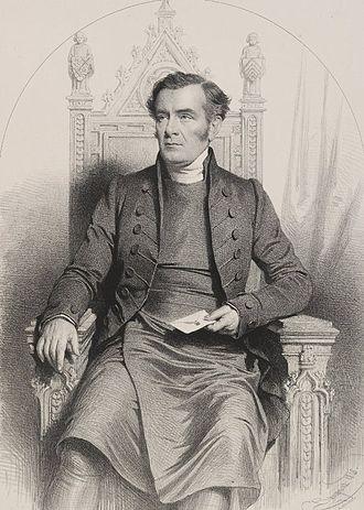 John Merewether - John Merewether, 1848 engraving by Charles Baugniet.