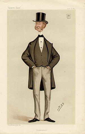 John William Ramsden - Ramsden as caricatured by Spy (Leslie Ward) in Vanity Fair, June 1884
