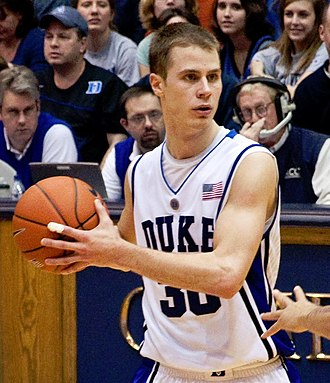 Jon Scheyer - Image: Jon Scheyer (cropped)