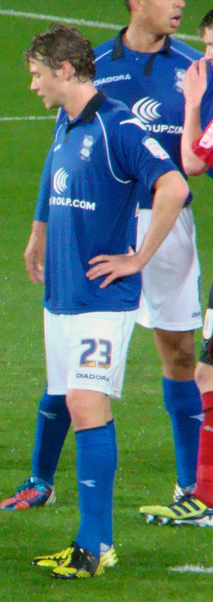 Jonathan Spector - Spector playing for Birmingham City in 2012