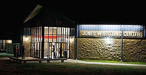 Allan Jones (businessman) - Jones Wrestling Center