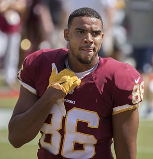 Jordan Reed American football tight end