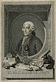 Jorge Juan. Line engraving by S. Carmona after F. de Castro. Wellcome V0003139.jpg