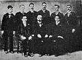 José Martí retrato junto a miembros del Comité de Key West 1891.jpg