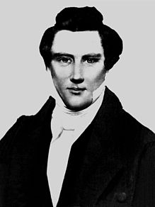 Alleged daguerreotype of Joseph Smith