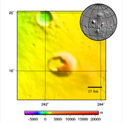 Jovis Tholus - topography map.png