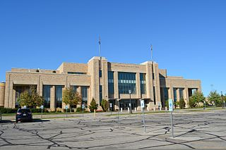 Edmund P. Joyce Center building in Indiana, United States
