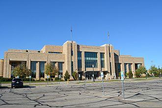 Edmund P. Joyce Center - The outside of the Joyce Center in September 2016