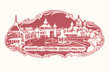 Jubilee Exposition. Riga. Esplanade. 1901.png
