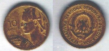 Jugoslavia 10 dinari