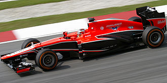 Marussia Motors - Marussia MR02