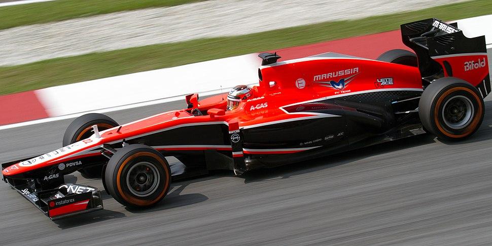 Jules Bianchi 2013 Malaysia FP1